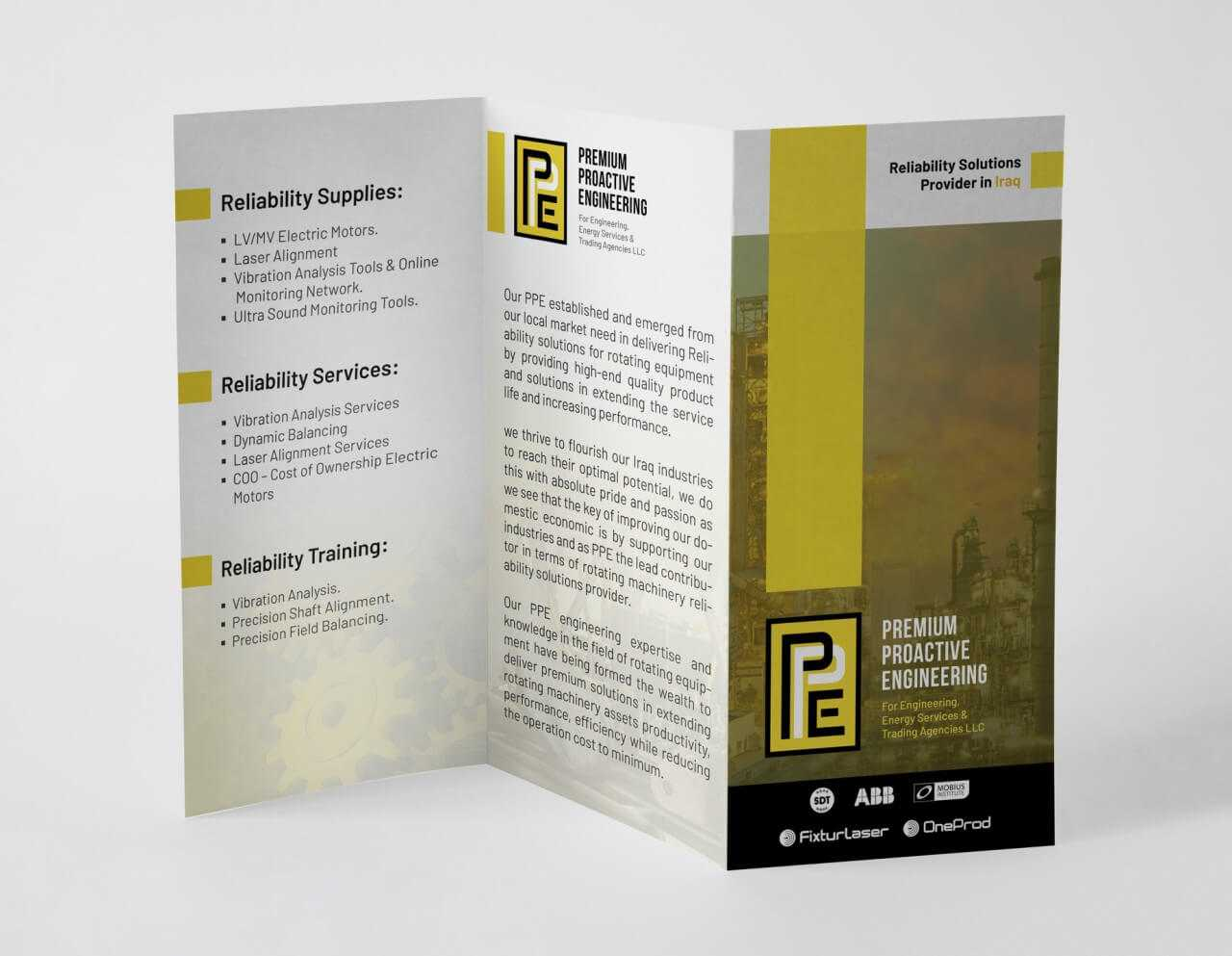 PPE Brochure Flyer Design - Suncode IT Solutions and Consultancy