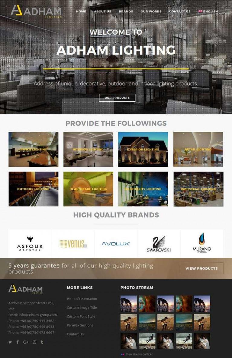 adhamgroup-erbil-lighting-suncode-it-solutions-website-design-lighting-company-erbil